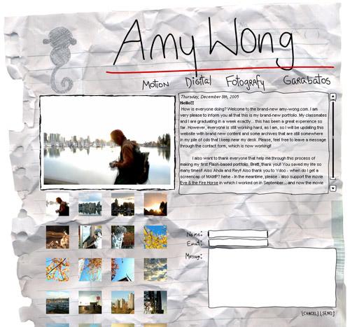 WEB - amy-wong.com